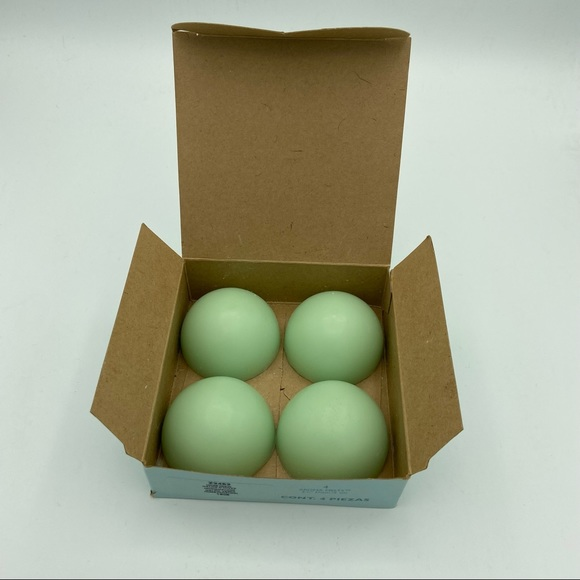 PartyLite Honeydew Melon 4 Aroma Melts Candles NEW